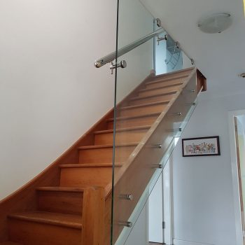 Glass Balustrade Stairs - All Hours Glass